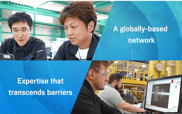 A globally-based network Expertise that transcends barriers